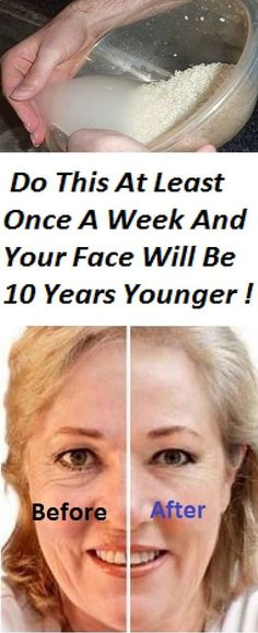 Once A Week And Your Face Will Be 10 Years Younger – Magical Face Mask