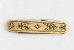 Rare 1960s German AGFA Solingen Pocket Knife by TheGentlemansBlade