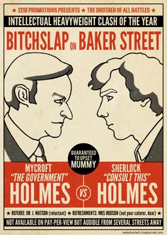 *bitchslap* on Baker Street, you know this will happen some day. Sherlock and Mycroft WILL snap, eventually