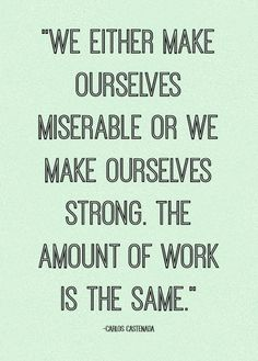 I choose, STRENGTH!