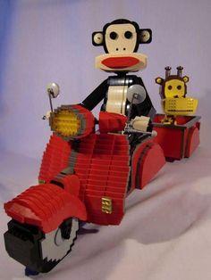 Esculturas de Lego.