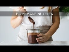 How to Make Homemade Nutella (dairy-free, vegan, paleo) | Downshiftology