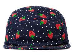 "ONLY NY ""Strawberry"" 5-Panel Cap"