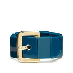 Kate Spade buckle up stretch bracelet in blue $58