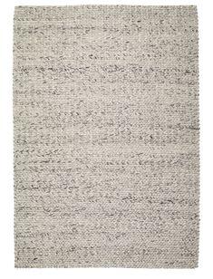 Farrah Marble Grey Braided Wool Rug