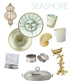 NEW Seashore Inspired Tabletop on NewlyWish from the makers of Weimar, Match, Roost and others.