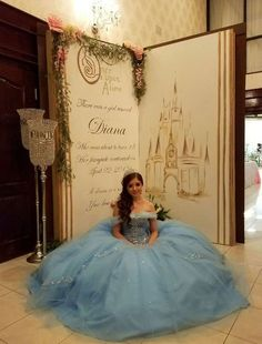 The latest ideas strategies and info for quinceanera party: You might think you Cinderella Sweet 16, Cinderella Theme, Cinderella Birthday, Princess Theme, Cinderella Wedding, Cinderella Decorations, Cinderella Centerpiece, Disney Sweet 16, Princess Birthday