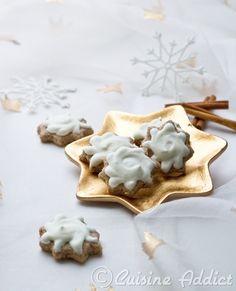 Zimtsterne {Etoiles glacées à la Cannelle} - Cuisine Addict