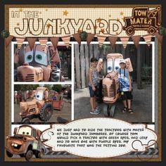 Mater's Junkyard Jamboree - MouseScrappers.com