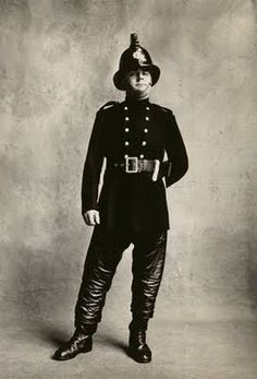 Irving Penn's Fireman, London
