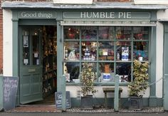 A shopfront in Burnham Market, Norfolk. Humble Pie, Cafe House, Burnham, Shop Fronts, Shop Window Displays, Shop Interiors, Cafe Interior, House Layouts, Norfolk
