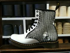 knitted doc martens