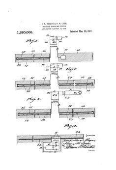 Patent US1220005 - Wireless signaling system. - Mar 20, 1917