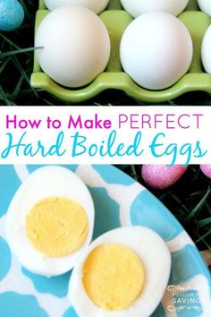 How to Boil Eggs Perfectly! Want to boil eggs and not have any shell left on the egg? This tip is for you!