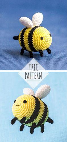 Mesmerizing Crochet an Amigurumi Rabbit Ideas. Lovely Crochet an Amigurumi Rabbit Ideas. Crochet Puff Flower, Crochet Flower Patterns, Crochet Toys Patterns, Crochet Designs, Crochet Flowers, Amigurumi Patterns, Crochet Hood, Crochet Bee, Crochet Gifts
