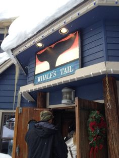 Whales tale in Brecknridge. Yummy place to eat!