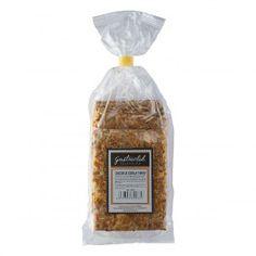 Deliciosos cracker de cebolla, perfectos para acompañara us tablas de quesos y tus platos mas gourmet. 200grs