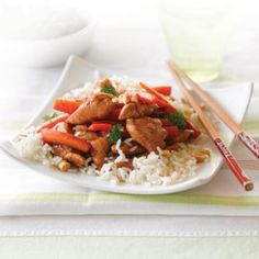 Honey and soy chicken with cashews | Healthy Food Guide