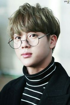 Kim Seokjin glasses