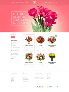 Well rounded florist shop design