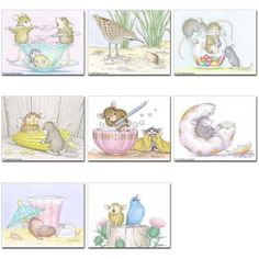"""""""8 Assorted Note Cards / 8 envs"""" from House-Mouse Designs (N-39). This item was recently purchased off from our web site, www.house-mouse.com. Click on the image to see more information."""