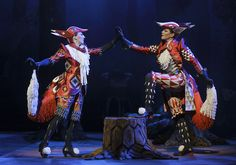 Cunning LIttle Vixen Opera by Jancek with costumes by Finnish designer