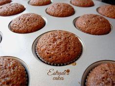 Estrade's cakes: receta de cupcakes de chocolate.