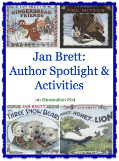 Jan Brett Author Discovery: Activities and Crafts