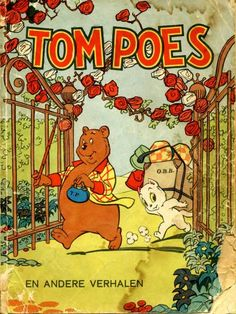 Tom Poes and Olivier B. Bommel By Marten Toonder.
