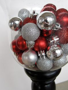 Decorating with Target Dollar Spot Christmas decorations.  www.houseofhepworths.com