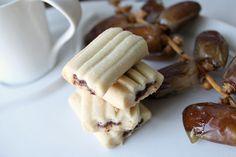 Délices d'Orient: Gâteaux aux dattes, avec une autre farine