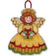 "Cross Stitch Kits | ""Angel Ornament"" by Dimensions | 5/12"