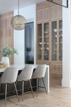 The Forest Modern: Kitchen Q & A - The House of Silver Lining Home Design, Küchen Design, Layout Design, Modern Farmhouse Kitchens, Home Kitchens, Home Interior, Interior Design Kitchen, Interior Decorating, Home Decor Kitchen