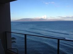 View from the Ashton Mahana in Maui, every room is ocean front and so close to the water its crazy! What an amazing place! Can i just move here now!!!!!