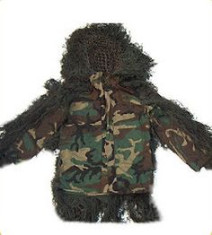 Ghillie Suits 177870: Sniper Ghillie Suit Jacket Woodland -Class A Fire-Retardant ^D -> BUY IT NOW ONLY: $189.98 on eBay!