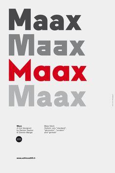Maax by Damien Gautier, bureau 205, 2011-2012