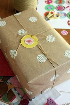 adorable gift tags and present decoration!