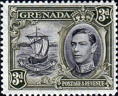 Grenada 1938 King George VI SG 156 Fine Mint Scott 135 Other Grenada Stamps HERE