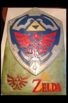 Legend of Zelda Cake- doing this for her birthday!