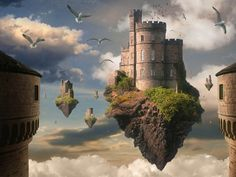 Fantasy Oriental Dragon Asian Castle City Wallpaper Fantasy