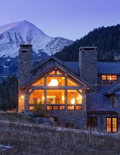Redux House In The Mountains: Rustic Combined With Modern | DigsDigs