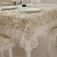 FADFAY Gold Flowers Table Cover Brand Diamond Tablecloth ... https://www.amazon.ca/dp/B013OVF3OE/ref=cm_sw_r_pi_dp_8mSAxbSH2JQFA