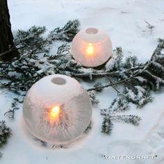 Wintercraft ice lantern kits