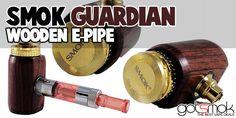 Smok Guardian Wooden E-pipe $26.64 | GOTSMOK.COM