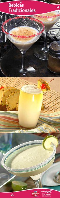 Coquito de Puerto Rico, piña colada y cremosas margaritas con leche Carnation; estas bebidas tradicionales han mantenido su festividad a lo largo de los años. ¡Incluye estás clásicas en tu celebración y que empiece la fiesta!