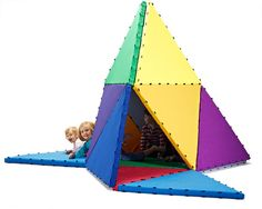 Tukluk, triangle and toy