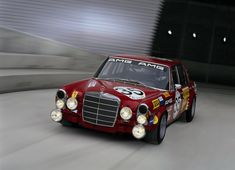 Mercedes Benz 300 SEL 6.8. 'Red Pig'