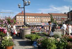 The main shopping street in Umeå, Sweden (photo AN)