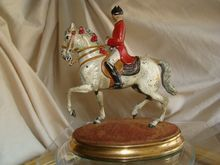 Antique Vienna Bronze figure of a dressage rider of the famous Spanish Vienna riding school