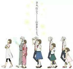 Imagen de anime, hotarubi no mori e, and hotaru